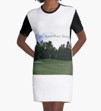 Aother Swing Graphic T-Shirt Dress
