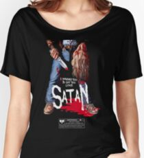 Say You Love Satan 80s Horror Podcast - Maniac Women's Relaxed Fit T-Shirt