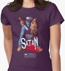 Say You Love Satan 80s Horror Podcast - Maniac Womens Fitted T-Shirt