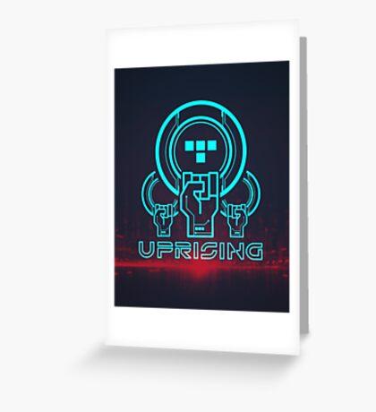 Uprising Greeting Card
