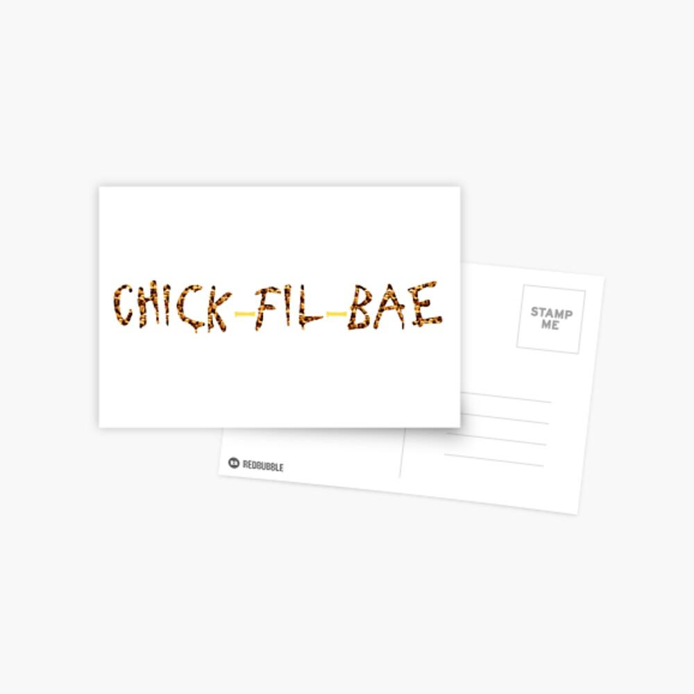 Küken-Fil-Bae Postkarte