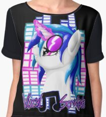 MLP Vinyl Scratch: For The Love Of Music Chiffon Top