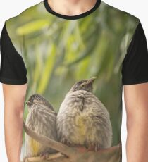 Juvenile Wattlebirds Graphic T-Shirt