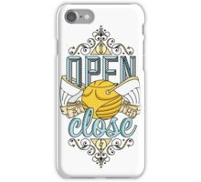 I Open At The Close iPhone Case/Skin