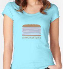Folding It Women's Fitted Scoop T-Shirt