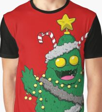 Christmas Monster Graphic T-Shirt