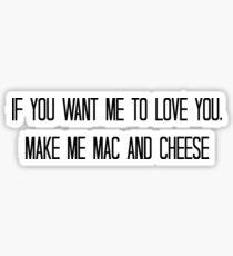 Mac & Cheese Sticker