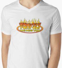 Tony We Miss You Men's V-Neck T-Shirt