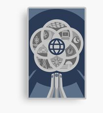 EPCOT Center 30th Variant Canvas Print