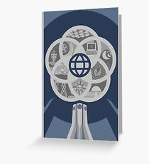 EPCOT Center 30th Variant Greeting Card
