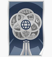 EPCOT Center 30th Variant Poster