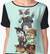 Forming Voltron: Are we doing this correctly? Women's Chiffon Top
