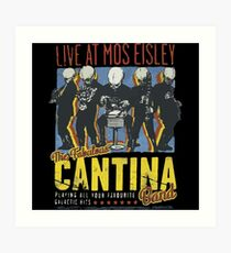 Star Wars - Cantina Band On Tour Art Print