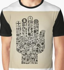 Hand office Graphic T-Shirt