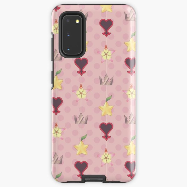 KH Destiny Trio Pattern - Pink Samsung Galaxy Tough Case