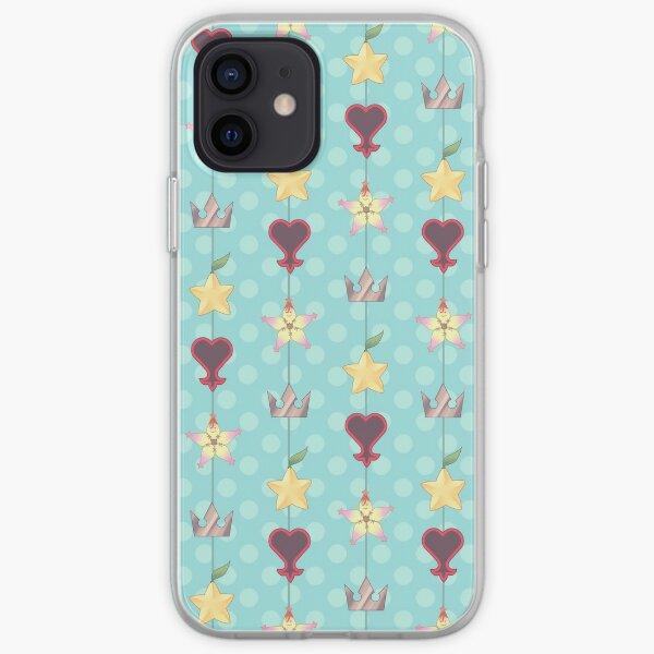 KH Destiny Trio Pattern - Blue iPhone Soft Case