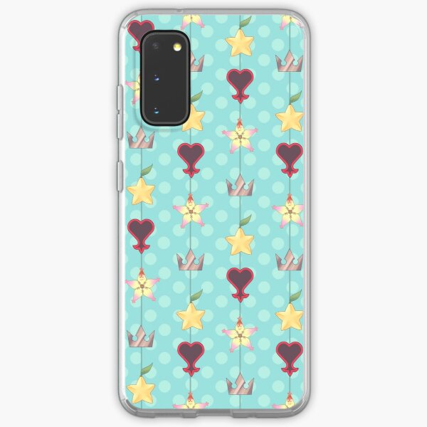 KH Destiny Trio Pattern - Blue Samsung Galaxy Soft Case