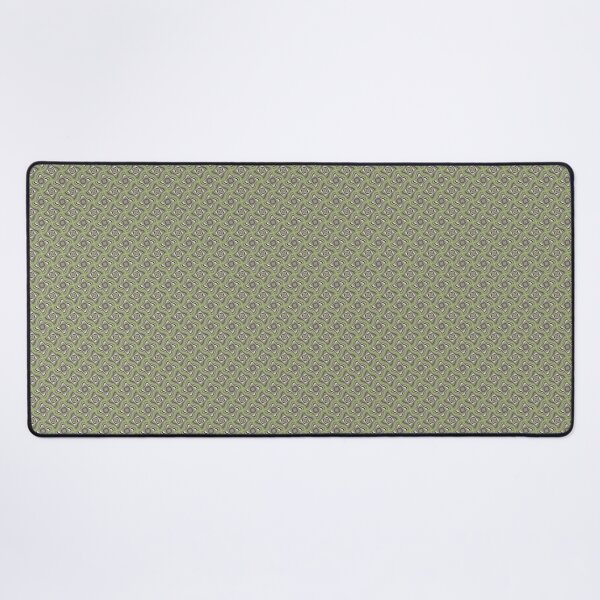 Cool Green and Purple Squish Desk Mat