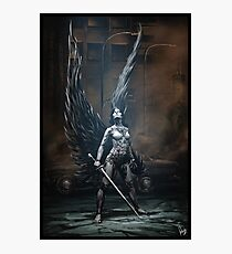 Robot Angel Painting 002 Photographic Print