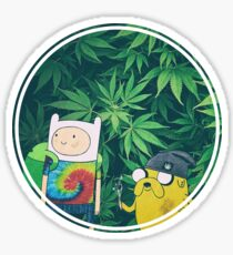 Stoner Time Sticker