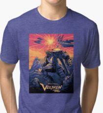 Blue Voltron Tri-blend T-Shirt