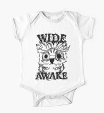 Wide Awake Owl One Piece - Short Sleeve