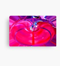 inflated purple  Canvas Print
