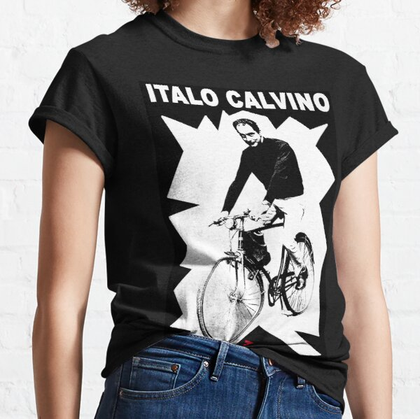 Italo Calvino - Black and White Classic T-Shirt