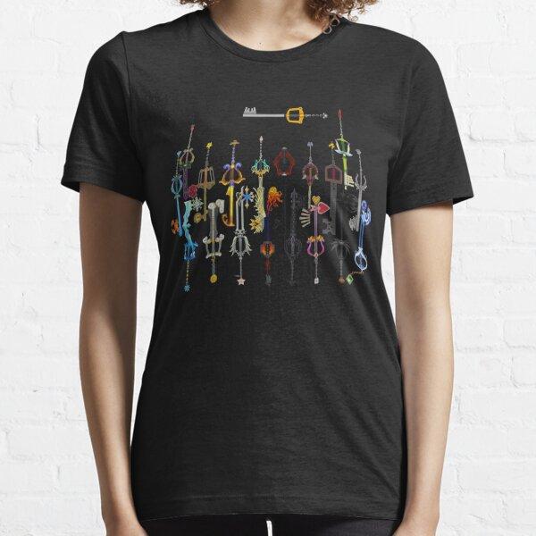 Llaveros de Kingdom Hearts Camiseta esencial