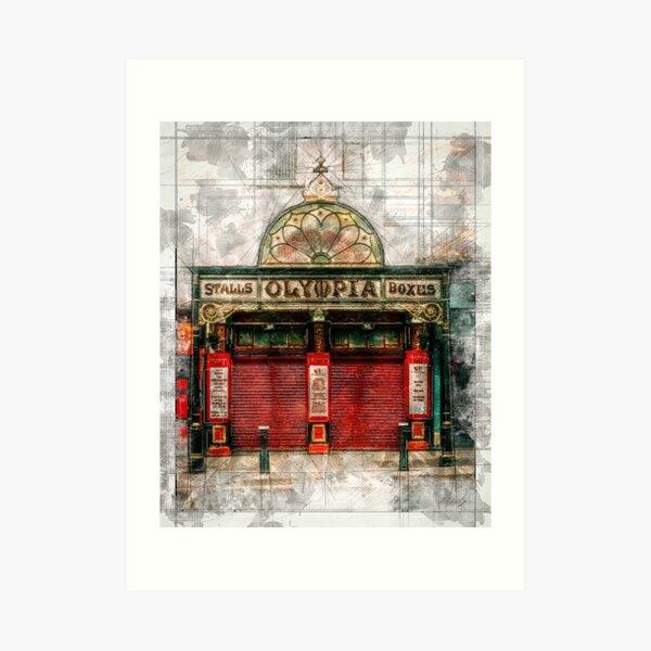 The Olympia Theatre - Dublin Art Print