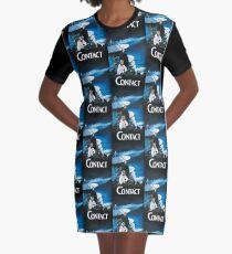 Katya Contact Movie print Graphic T-Shirt Dress