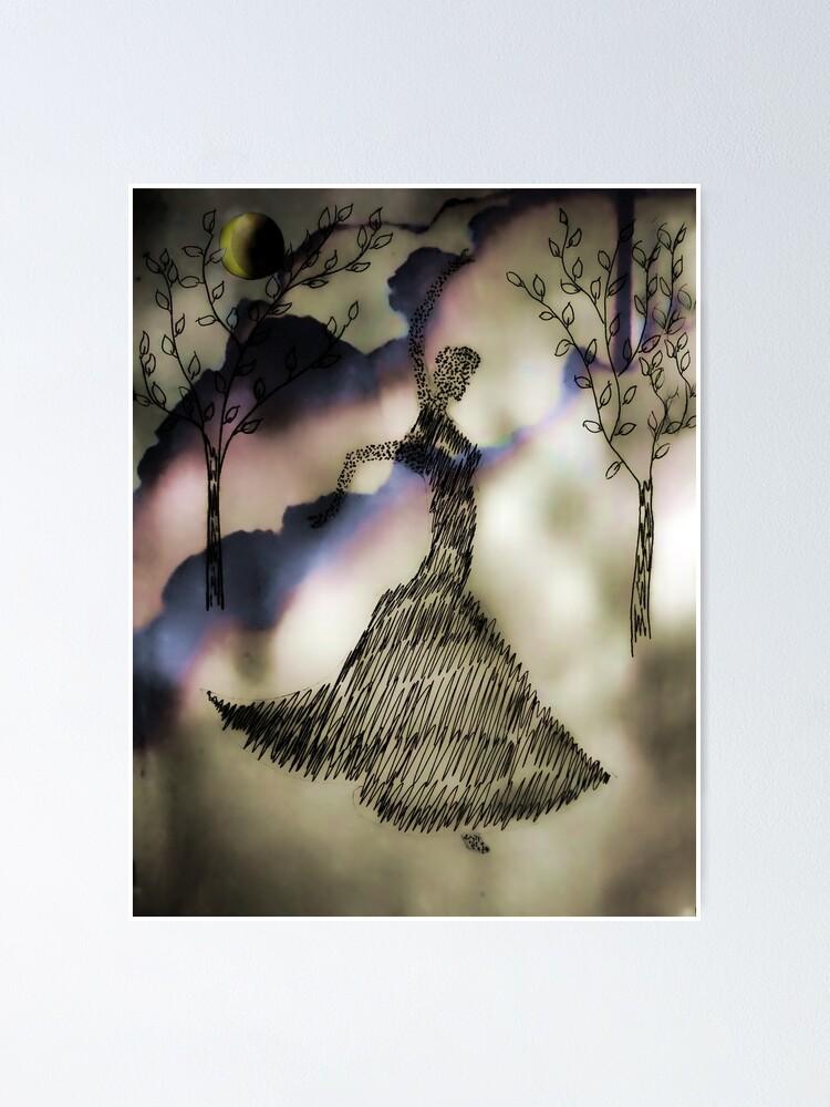 Dancer In The Dark Poster By Joannfineart Redbubble