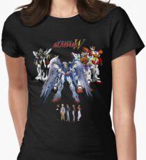 Gundam Wing  Womens Fitted T-Shirt