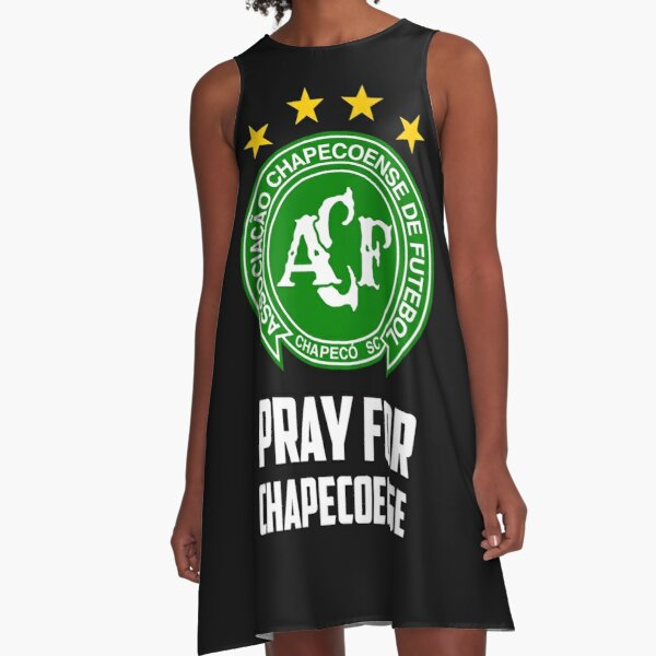 Forca  Chapecoense de Futebol Brasil  soccer football t shirt black