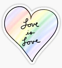 Love is Love Sticker
