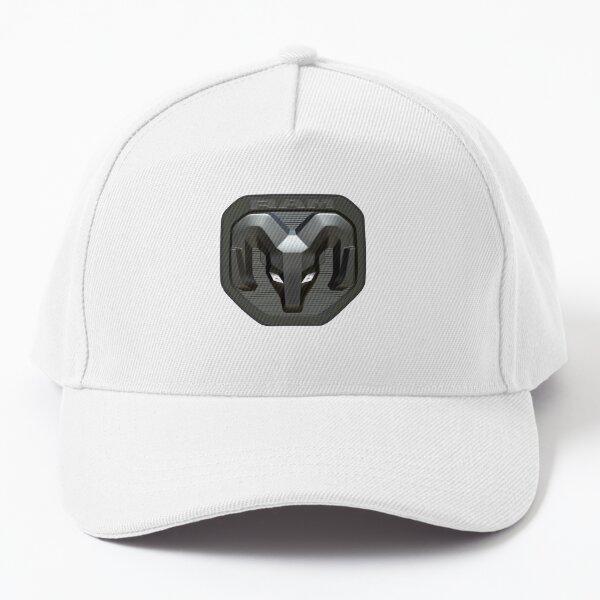 Ram Emblem/Badge Grey Baseball Cap