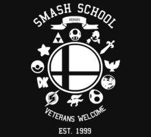 Smash School Veteran Class (White) | Unisex T-Shirt