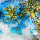 Tropical Beach by TinaGraphics