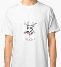 Rudolph the Dead Nose Reindeer Classic T-Shirt