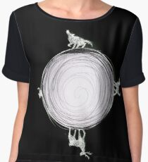 Inverted Marauders Moon Chiffon Top