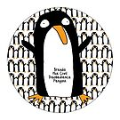Brenda Penguin Clock by firstdog