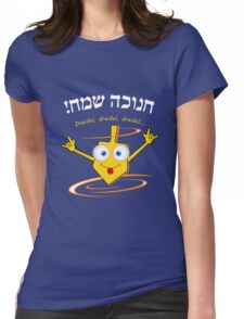 Dreidel, dreidel, dreidel... T shirt Womens Fitted T-Shirt
