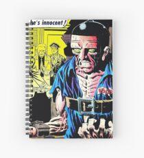 Strange Suspense Stories 19, 1954 cover by Ditko Spiral Notebook