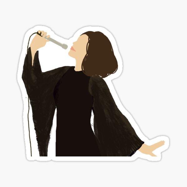 Meghan Draper Sticker