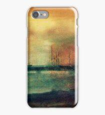 Shipyard in coppers circa 1910 iPhone Case/Skin