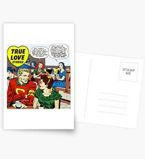 1948 Young Romance 4 Cover by Jack Kirby Postcards