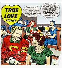 1948 Young Romance 4 Cover by Jack Kirby Poster