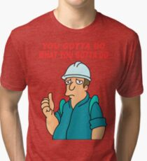 Ultimate Work T-shirt Tri-blend T-Shirt