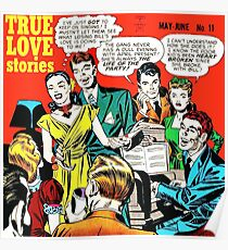 1949 Young Romance 11 cover by Jack Kirby Poster
