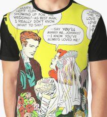 1948 Young Romance 6 cover by Jack Kirby Graphic T-Shirt